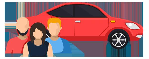 3+Carpools - 1800234ride