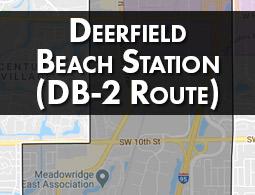 Deerfield Beach Station (DB-2 Route).