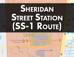 Sheridan Street Station (SS-1 Route).